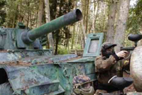 Paintball Park - Full day of paintballing be a soldier for a day - Save 75%