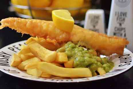 Kingsley Fish Bar - Fish Chips and Mushy Peas  - Save 59%