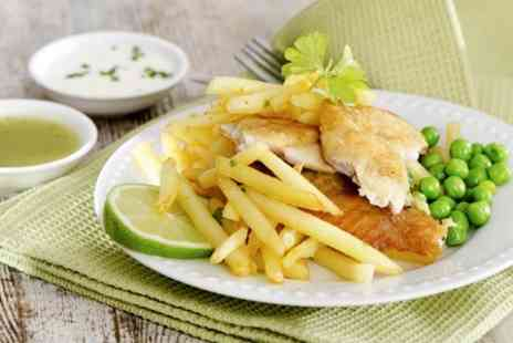 The New Pack Horse - Beer Battered Fish and Chips For Two - Save 56%