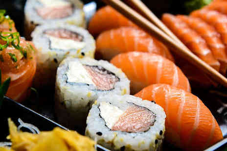 Yazu Sushi - Ten Sushi Dishes to Share Between Two with a Beer, Wine, or Sake Each - Save 58%