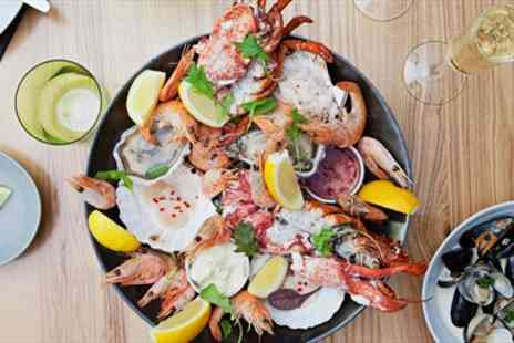 The Old Passage - Riverside Seafood Feast & Bubbly for two - Save 54%