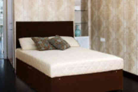 4 Home Furnishing - King size divan bed base and Memory Foam mattress - Save 76%