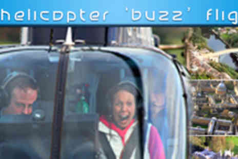 Adventure001 - 6Mile Helicopter Buzz Flight Experience - Save 45%
