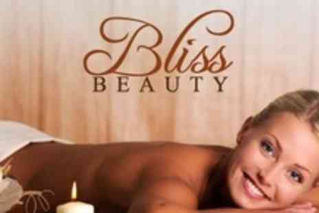 Bliss Hair and Beauty - Back, Neck and Shoulder Massage Plus Express Facial, Manicure and Pedicure - Save 71%