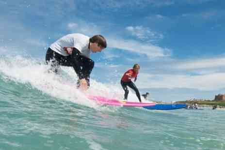 Quest Coasteering - Surf Lesson For One - Save 50%
