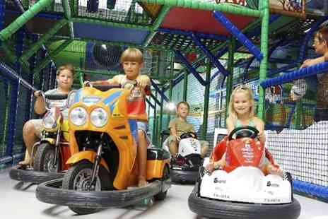 Riverside Hub - Soft Play Centre Entry  - Save 56%