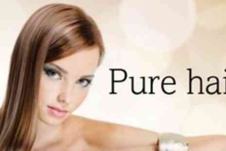 Pure Hair - Restyle or Cut and Finish With Conditioning Treatment - Save 60%