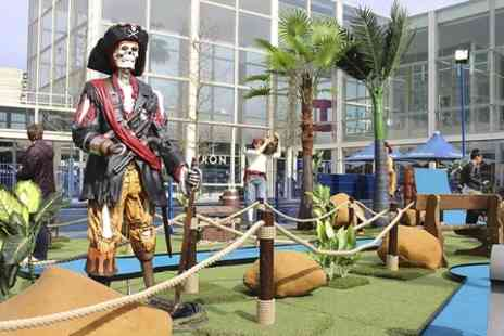 Pirate Adventure Golf - 12 hole miniature golf course - Save 44%