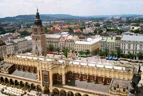 Two Nights - One Night stay of the most beautiful and historic cities in Poland includes breakfast - Save 42%