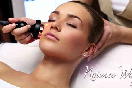 Natures Way - Turn back the clock to more youthful skin with the non invasive Radio Frequency Facial - Save 69%