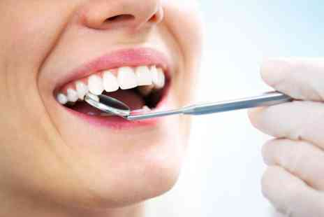 Smileright Dental Clinic - Full dental check up, laser teeth whitening and two X rays - Save 75%