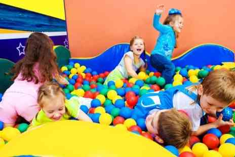 Little Monkeys - Indoor Soft Play and Food For Two Children  - Save 53%