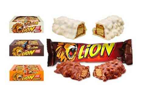Premium Brands 4 Less - Nestle Lion Bars 40 With Choice of Flavours and Free Delivery - Save 36%