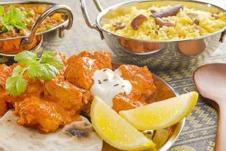 Nimboo Restaurant - Two Course Indian Meal With Sides For Two - Save 56%