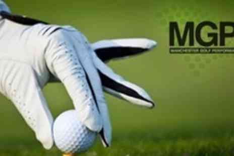 Manchester Golf Performance Centre - PGA Pro Golf Tuition With Video Analysis - Save 60%