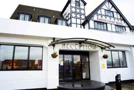 Barons Court Hotel - One Nights For Two With Breakfast and Wine - Save 52%