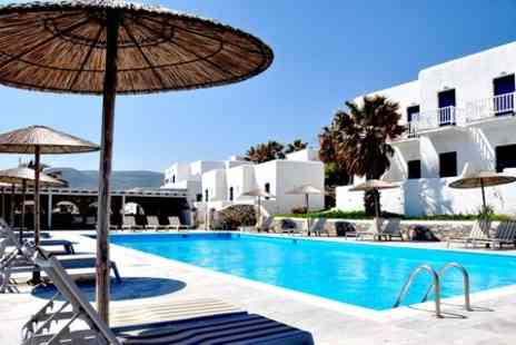 Paros Bay Sea Resort Hotel - Two Nights For Two With Breakfast and Transfers - Save 53%
