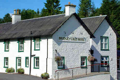 Bridge of Cally Hotel - One Night Stay for Two People with Daily Full Scottish Breakfast - Save 61%