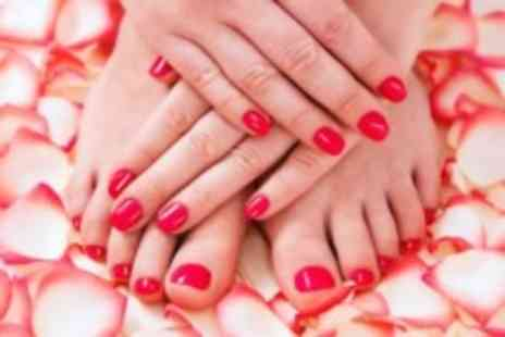 perfection hair beauty and nail bar - luxury manicure & pedicure - Save 50%