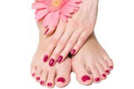 Perfection Hair Beauty - Luxury manicure & pedicure with gel extensions - Save 50%