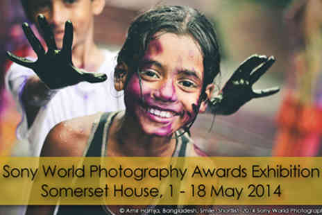 World Photography Organisation - The 2014 Sony World Photography Awards Exhibition at Somerset House, 1st-18th May. - Save 51%