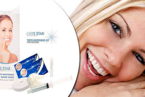 Hollywood Smiles -  Brite Star Teeth Whitening Set - Save 81%