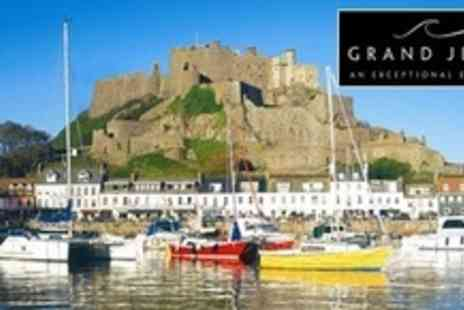 Grand Jersey Hotel & Spa - Two Night Stay For Two With Breakfast, Spa Access, and Bubbly on Arrival - Save 66%