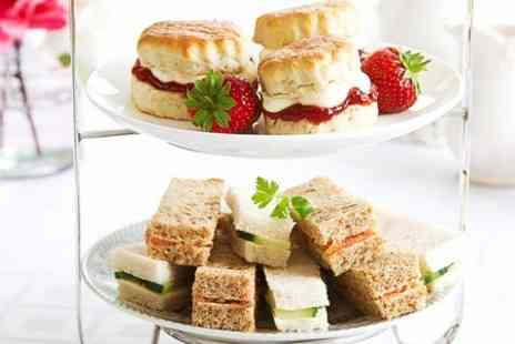 Whalley Gallery and Cafe - Spring Afternoon Tea For Two  - Save 44%