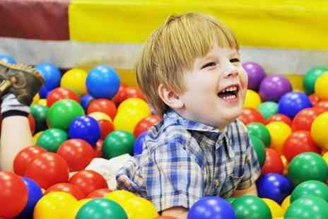 Planet Happy - Soft Play Two Hours Play and Drinks For Two Children - Save 52%