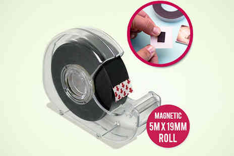 Ministry of Deals - Magnetic Self Adhesive Tape - Save 70%