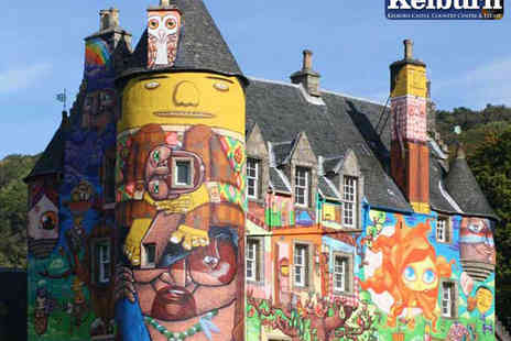 Kelburn Castle - Family Entrance Ticket for Two Adults and up to Three Children - Save 50%