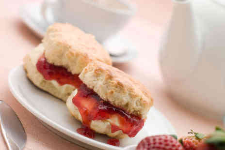 Cafe Dijon - Strawberries and Cream Afternoon Tea for Two - Save 54%