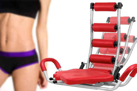 Jazzydeals - Dreamt of with this fantastic Abs Trainer Twist Home Abdominal Sit Up Bench - Save 52%