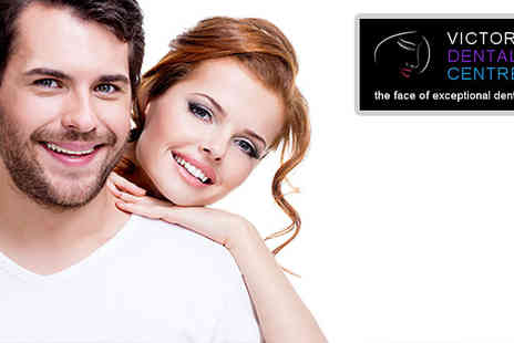 Victoria dental centre - Deep Hygiene Clean Scale & Polish and Stain Removal treatment  - Save 50%