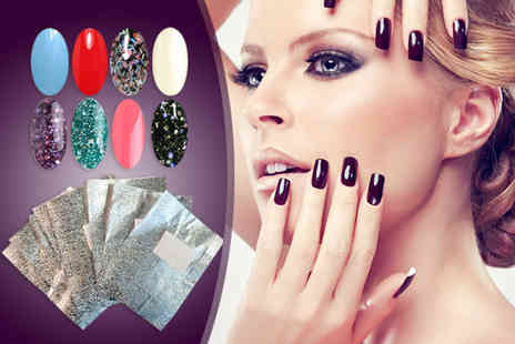 RYV Products - Five gel polishes and one pack of 10 nail remover wraps - Save 37%