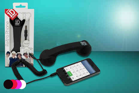 Uber Phunk - One Direction retro phone handset - Save 60%