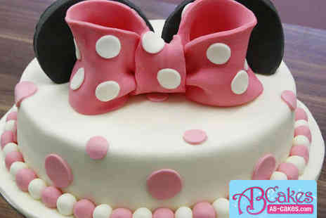 AB Cakes - £40 to Spend on a Hand Crafted Cake - Save 63%
