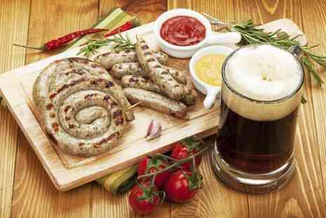 The Sirloin Inn -  Annual Sausage and Beer Festival Entry - Save 50%