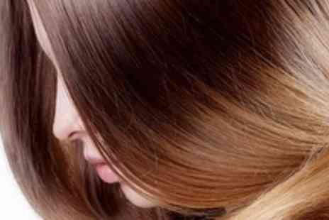 Blooms Hair & Beauty - Half Head Highlights or Semi Permanent  Colour with Cut, Treatment & Blow Dry - Save 67%