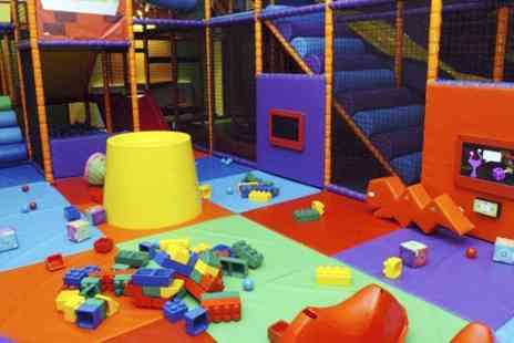 Kid Mania - Soft Play Session With Snack Box and Hot Beverage - Save 62%