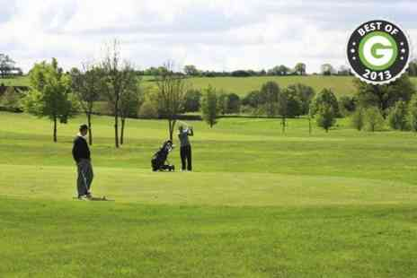 Nazeing Golf Club - Full Day of Nazeing Golf Club With Bacon Roll For Two  - Save 79%