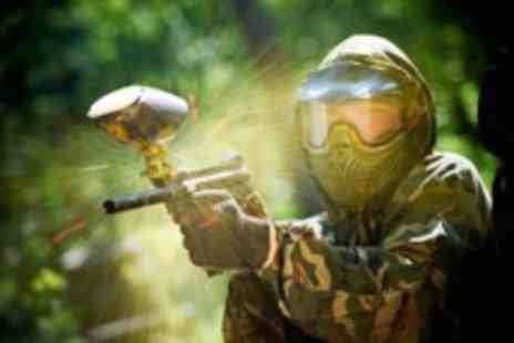 Point Blank Paintball - VIP paintball package for 6 with a 100 paintballs per person - Save 94%