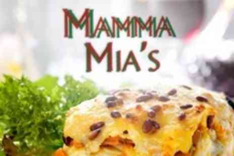 Mamma Mia's - Two Course Italian Meal for Four With Coffee and Liqueur - Save 68%
