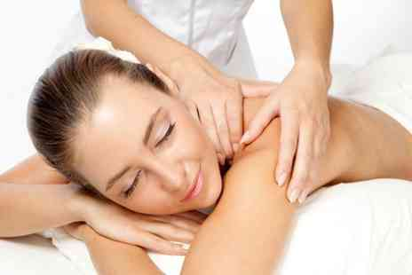 Mello Massage - One hour back, neck and shoulder massage plus exfoliating body scrub - Save 76%