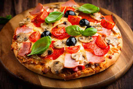 Ma Egertons Stage Door - Pizza meal for 2 including a side - Save 52%