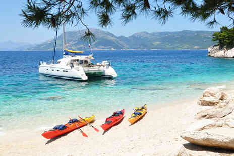 Huck Finn Adventure Travel - Four night Croatia adventure sailing tour including breakfast - Save 32%