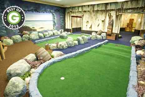 Paradise Island Adventure Golf - 18 Holes of Adventure Golf For Two - Save 50%