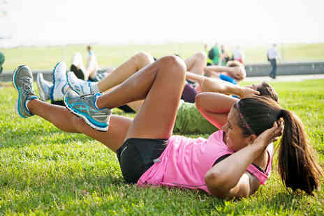 Any Goal Personal Training - Six Weeks of Outdoor Boot Camp Classes - Save 80%