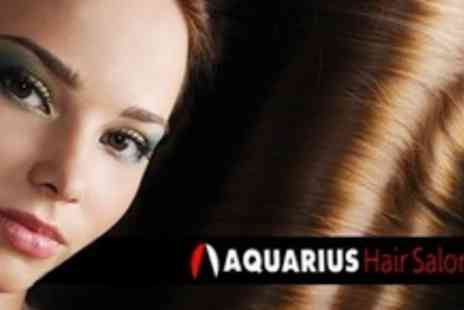 Aquarius Hair & Beauty Salon - Cut, Finish and Conditioning Treatment - Save 60%