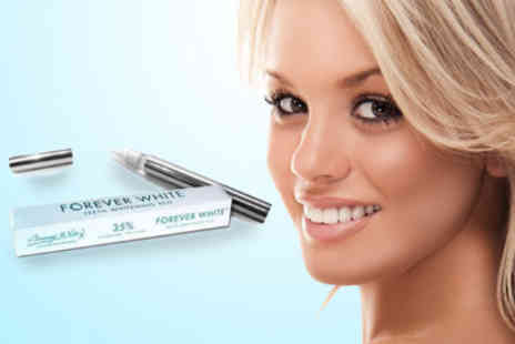 Just Smile - £12.75 for a sparkling smile with a Forever White� Teeth Whitening Pen worth £42.49 - Save 70%